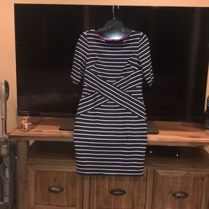 Adorable navy striped Elusion dress ❤️